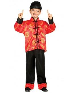 Costum carnaval Baiat chinez 3 - 4 an