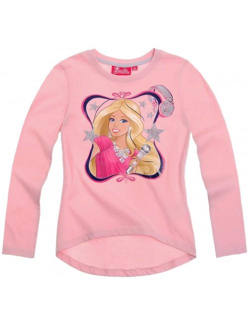 Bluza fete 2-4 ani, Barbie Superstar, roz