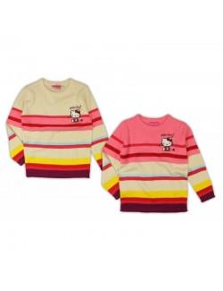 Pulover tricotat pentru fete Hello Kitty