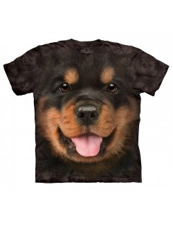 Tricou The Mountain copii: Rottweiler Puppy
