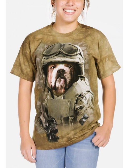 Tricou The Mountain adulti: Combat Sam