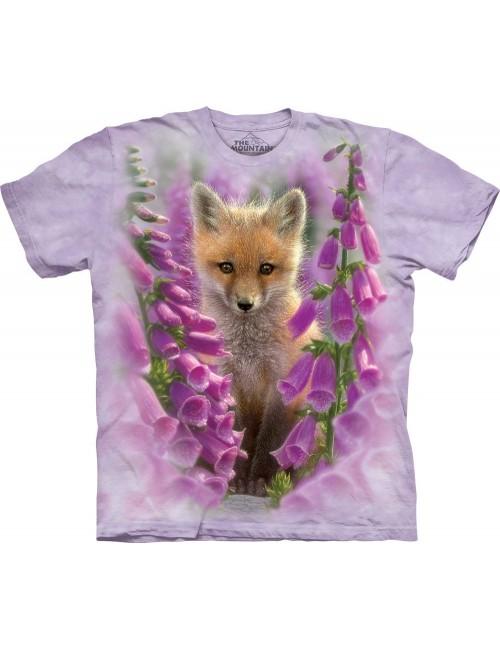 Tricou unisex adulti, The Mountain - Foxgloves