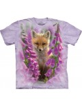 Tricou unisex adulti, The Mountain - Foxgloves