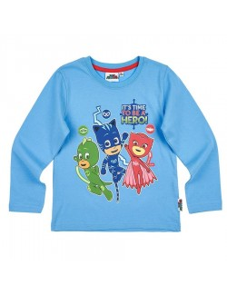 Bluza copii, PJ Masks - Eroii in pijamale, bleu