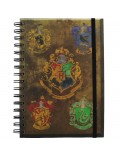 Agenda Harry Potter - Hogwarts Crests 21 cm