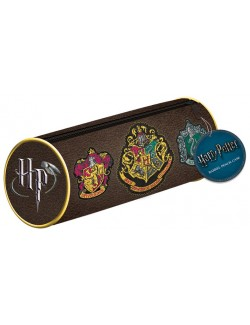 Penar cilindric Harry Potter - Hogwarts Crests, 21 cm