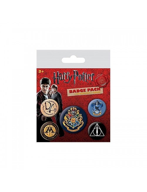 Insigna Harry Potter - Set 5 bucati