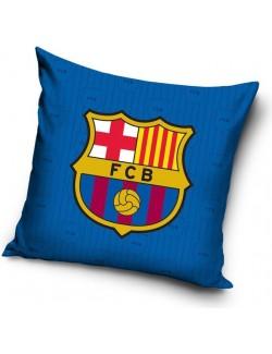 Fata perna FC Barcelona, bumbac, 40 x 40 cm