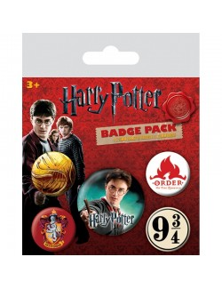 Set Insigne Harry Potter Gryffindor - 5 bucati