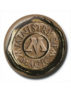 Insigna Harry Potter (Ministry Of Magic Seal), 2,5 cm