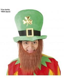 Palarie si barba Spiridus, St. Patrick's day, adulti