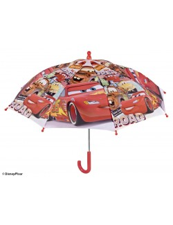 Umbrela manuala Disney Cars, 38 cm