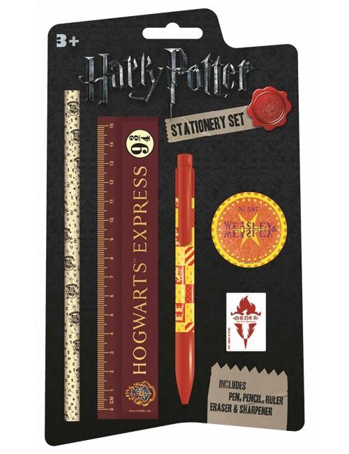Set papetarie 5 piese, Harry Potter