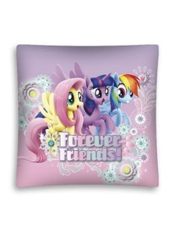 Fata de perna My little Pony: Forever friends! 40 x 40 cm