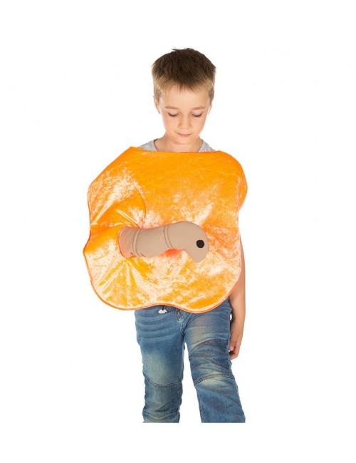 Costum Piersica uriasa, copii 3-7 ani