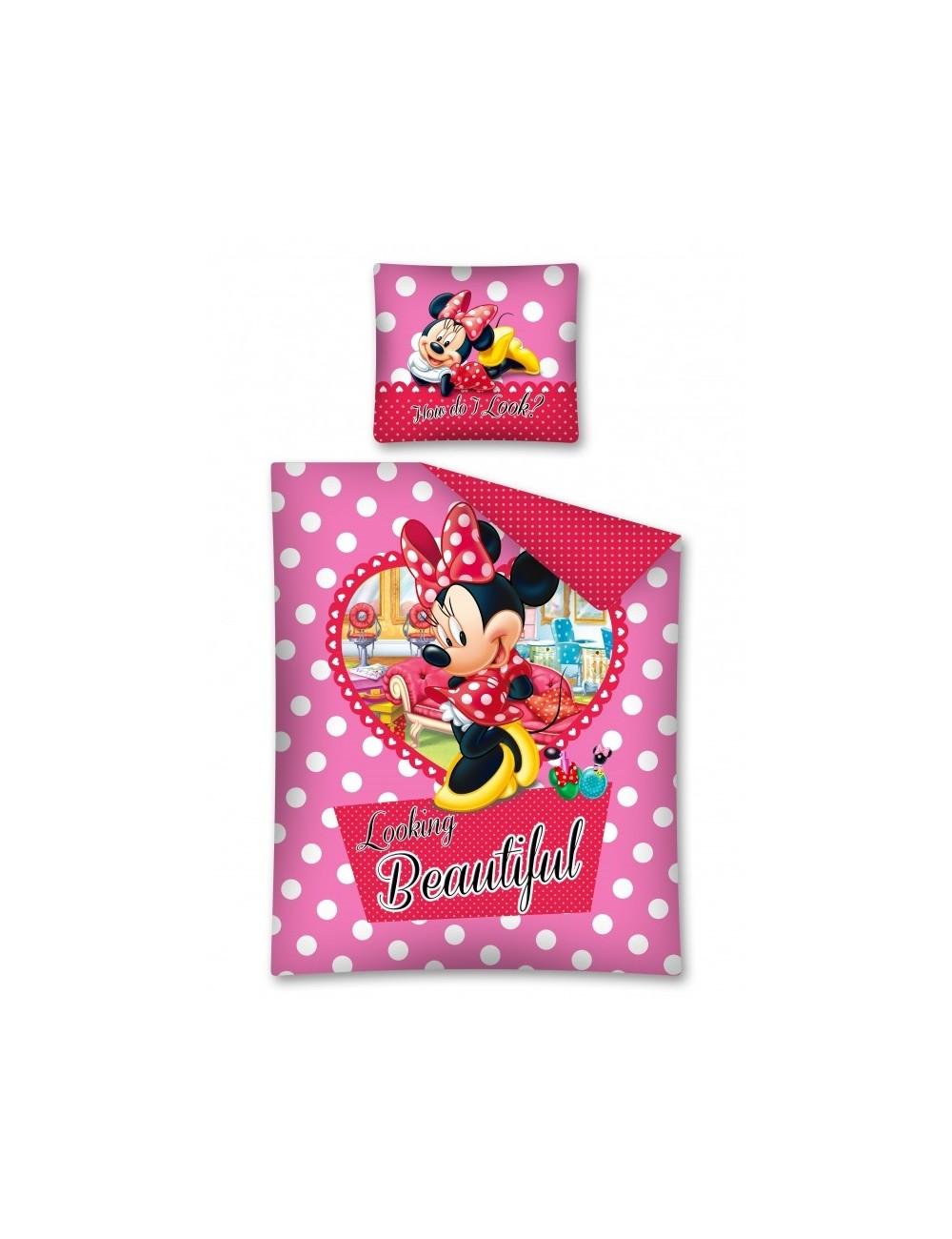 Lenjerie de pat Minnie Mouse, 160 x 200 cm