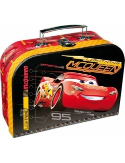 Servieta cu maner, Disney Cars, 24 x 18 x 9 cm