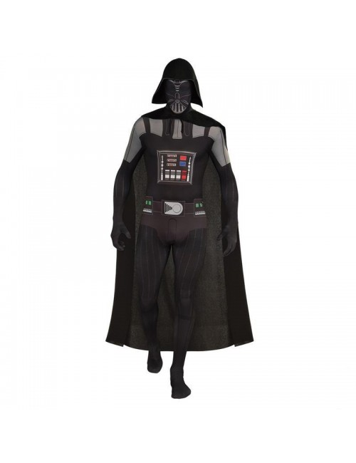 Costum adulti Darth Vader Second skin