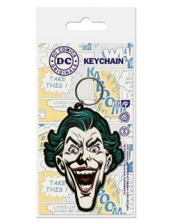 Breloc cauciuc Joker