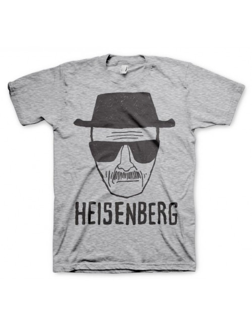 Tricou barbati Heisenberg Breaking Bad, gri