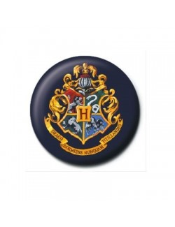 Insigna Harry Potter (Hogwarts Crest), 2,5 cm