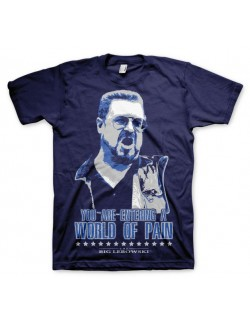 Tricou barbati The Big Lebowski: World of Pain