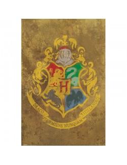 Poster maxi Harry Potter Hogwarts Crest, 61 x 91,5 cm