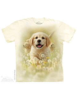 Tricou adulti, The Mountain, Golden Puppy