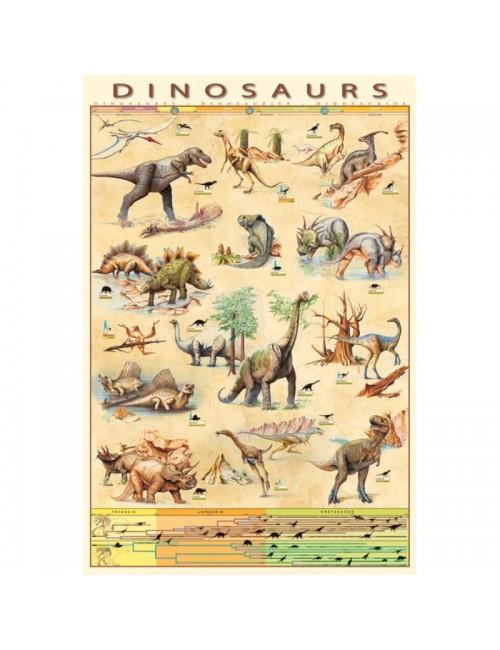 Poster maxi Dinozauri, 61 x 91,5 cm