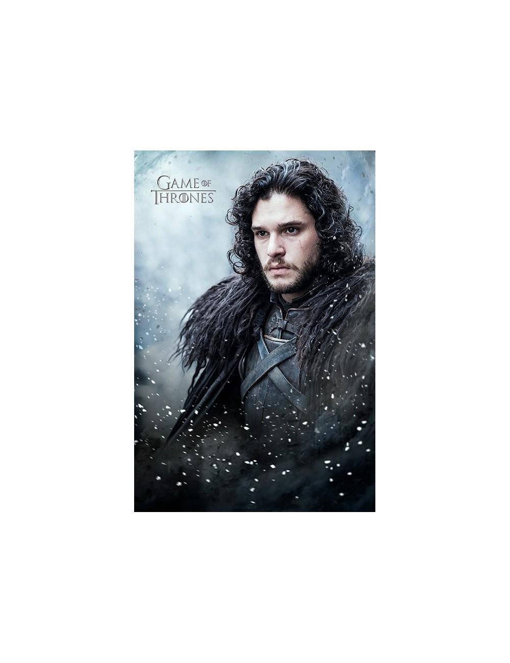 Poster Games of Thrones (Jon Snow), 61 x 91,5 cm