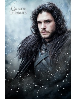 Poster Games of Thrones (Jon Snow), 61 x 91,5 cm
