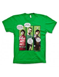 Tricou barbati The Big Bang Theory Superhero Quips