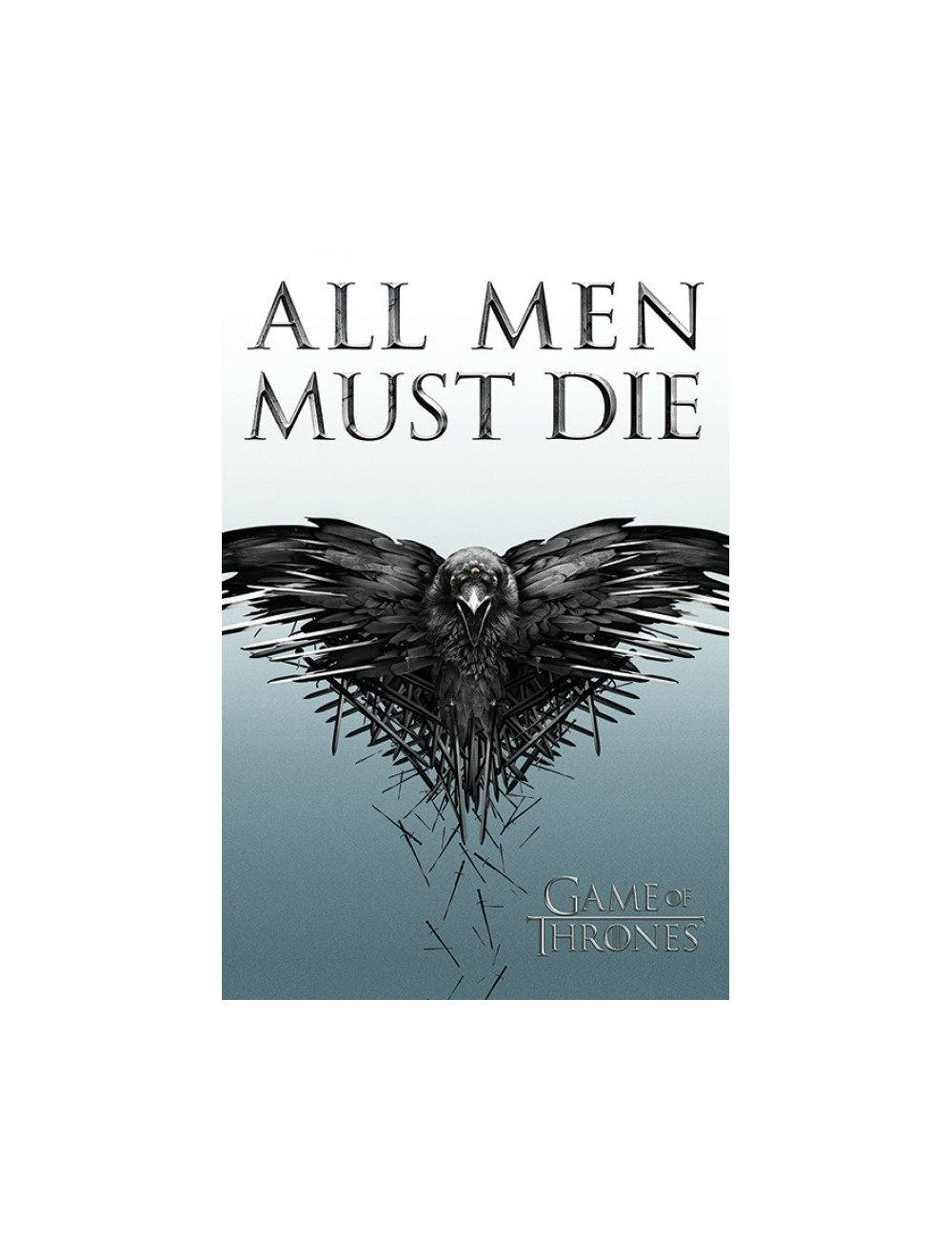 Poster maxi, Game of Thrones ( All Men Must Die)