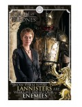 Poster Game of Thrones (Cersei Lannister Enemies)