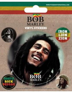 Set autocolante Bob Marley