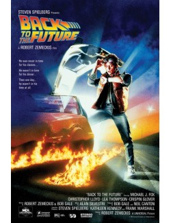 Poster film Back to the Future, dimensiuni 61 x 91 cm