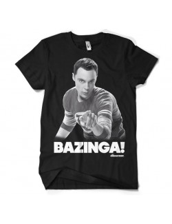 Tricou barbati Sheldon Bazinga Big Bang Theory