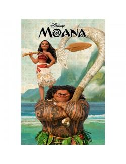 Poster perete, Vaiana & Maui, 61 x 91,5 cm