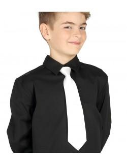 Cravata alba pentru copii
