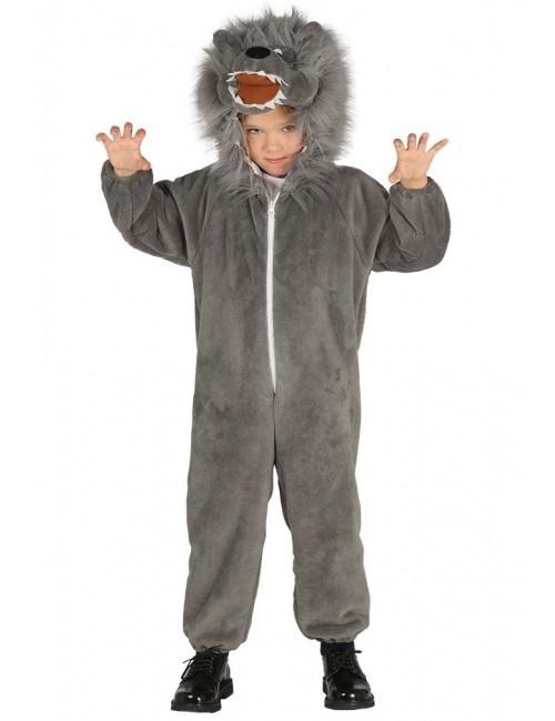 Costum copii, Lup pufos