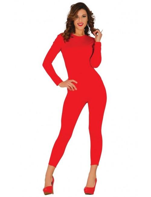 Body rosu, din lycra, pentru femei