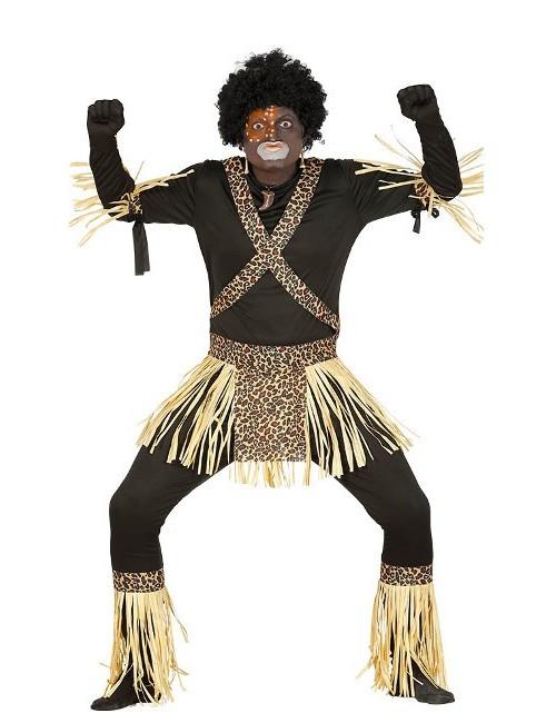 Costum carnaval barbati, African Zulu
