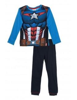 Pijama baieti, Captain America Avengers, 4 ani
