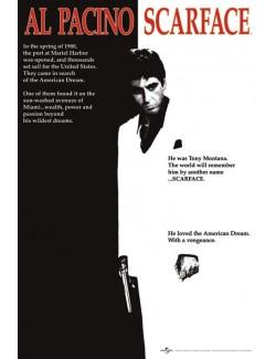 Poster Maxi Scarface (Tony Montana), 61 x 91,5 cm