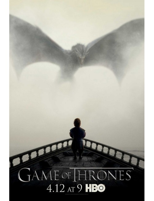 Poster maxi Game of Thrones (A Lion & A Dragon)