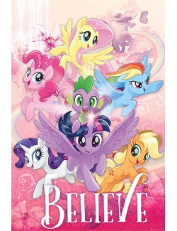 Poster maxi My Little Pony Movie (Belive), 61 x 91,5 cm