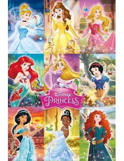Poster maxi Colaj Printese Disney, 61 x 91,5 cm
