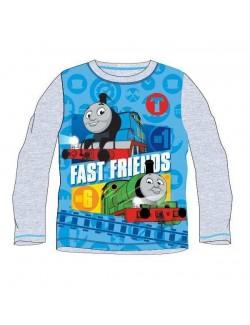 Bluza baieti, Locomotiva Thomas, gri