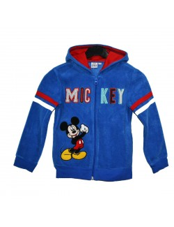 Hanorac copii, Mickey Mouse, 3 - 8 ani, albastru