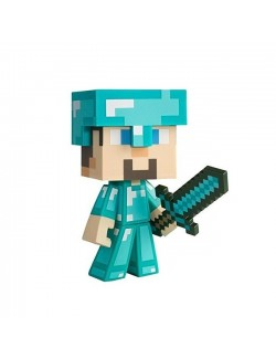 Figurina vinil Minecraft Diamond Steve 15 cm